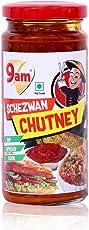 9am Schezwan Chutney, 250 grams