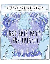 Invisibobble Collection Circus Original Bad Hair Day? Irrelephant Set de 3 Élastiques pour Cheveux