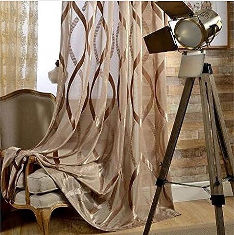 Fashion Design Style Transparente Tüll Sheer Vorhänge Für Fenster Behandlungen Wohnzimmer, Grommet Top , 1 , 1pc(W300xH260cm)