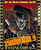 Pegasus Spiele 54140G - Zombies!!! 5: Totencampus, 2.Edition, Strategiespiel
