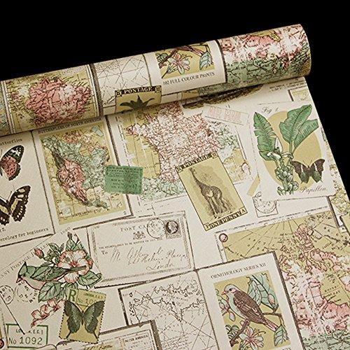 Vinilos y papel adhesivo vintage retroyvintage es - Papel decorativo para muebles ...