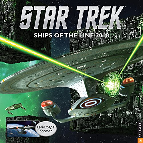 Preisvergleich Produktbild Star Trek Wall Calendar: Ships of the Line