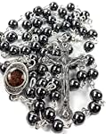 """""""These Hematite Prayer Bead Malas help varying energy fields to peacefully co-exist without interfering with each other; this quality also helps individuals to peacefully follow their own unique paths without interference from others. Hematite dissol..."""