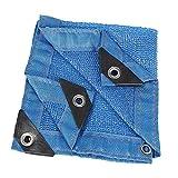 Lechuang Home YX Shop Sonnenschutzmittel Net Blue Shade Net Verdickung Isolierung Net (größe : 4x5m)