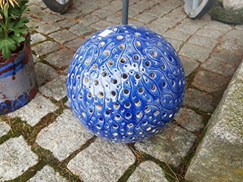 Keramikkugel, Kugelleuchte, Gartenkugel, 25 cm