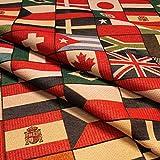 Stoff Baumwolle Polyester Gobelin Flagge 280 cm breit