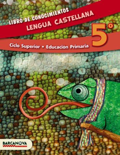 Lengua castellana 5º cs libro de conocimientos (ed 2014) (materials educatius - cicle superior - llengua castellana)