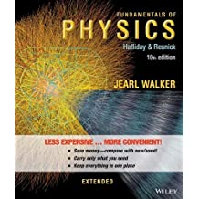 Fundamentals of Physics Extended 10th Binder edition by Halliday, David, Resnick, Robert, Walker, Jearl (2013) Loose Leaf