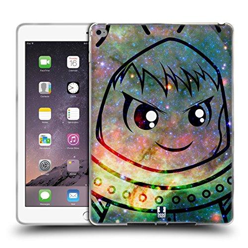 Head Case Designs Frosch Kostüm Kawaii Galaxie Soft Gel Hülle für Apple iPad Air 2
