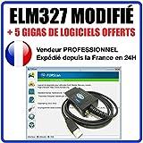 Schnittstelle ELM327Geändert–Koffer Diagnose geeignet für & Ford Elm 327Autocom Delphi forscan Altar Vergleich