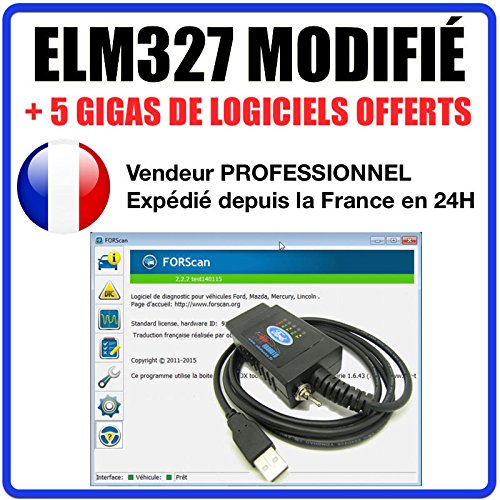 ds150 delphi Schnittstelle ELM327Geändert–Koffer Diagnose geeignet für & Ford Elm 327Autocom Delphi forscan Altar
