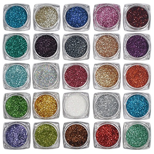 Eye care 12 Color Thick Shimmer Glitter For Beauty Queen  available at amazon for Rs.199