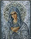 Set Diamond Painting Strass Mosaik Bild Basteln Bastelset Steine Kirche Religion