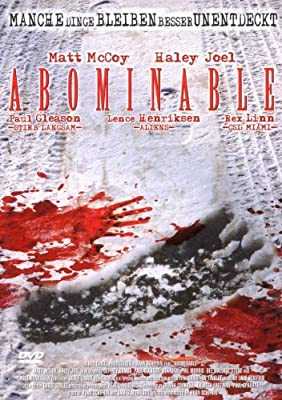 Abominable - German Release (Language: German and English) by Matt McCoy