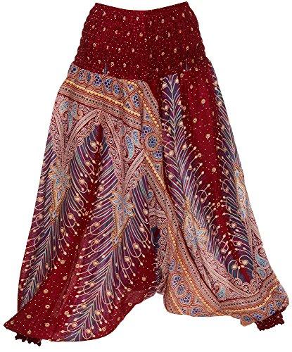 Pump pantaloni Harem pantaloni Peacock Zarlena qualità Thai limited edition pantaloni Original 982