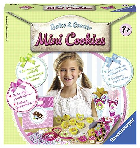 Ravensburger italy 18411 - set bake & create mini cookies