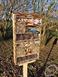 Large Hanging Nesting Box Hotel/with Feeder and...