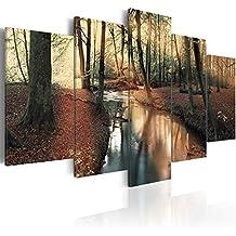 murando - Cuadro en Lienzo 200x100 cm - Naturaleza - Bosque - Impresion en calidad fotografica - Cuadro en lienzo tejido-no tejido - Paisaje c-A-0064-b-o