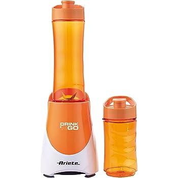 Ariete 00C056302AR0 Drink'Ngo Frullatore con Bicchiere, Arancio