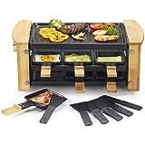 Kitchen chef - kcwood.6rp - Appareil … raclette 6 personnes 900w + grill