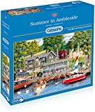 Gibsons G6208 Summer in Ambleside Jigsaw Puzzle (1000-Piece)