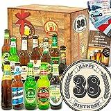 Geschenke zum 38. ++ Bier Paket Welt und DE ++ Geschenke zum 38. Geburtstag