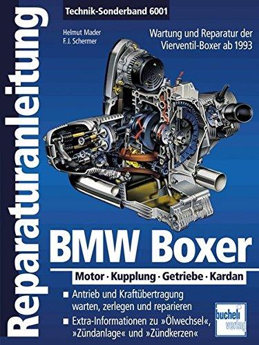 Motoren-bücher (BMW Boxer: Motor - Kupplung - Getriebe - Kardan  ab 1993 (Reparaturanleitungen))