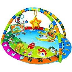 Mat Manta Alfombras de Bebé Manta Juego Musical para Kids 86 × 98 × 50cm