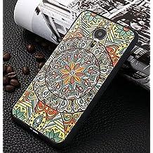 Prevoa ® 丨Meizu MX5 Funda - Colorful Silicona Protictive Carcasa Funda Case para Meizu MX5 5,5 Pantalla Smartphone - 15