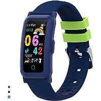 BingoFit Fitness Armband Uhr Kinder, Fitness Tracker Smartwatch mit Blutdruck Pulsmesser und Schlafmonitor, Wasserdicht…