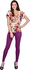 Robinbosky Women's Premium Cotton Lycra Stretchable Ankle Leggings