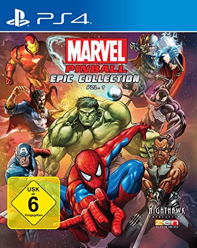 Marvel Pinball EPIC Collection Volume 1 [PlayStation 4]