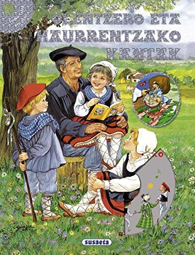 Olentzero eta haurrentzako kantak CD por Equipo Susaeta