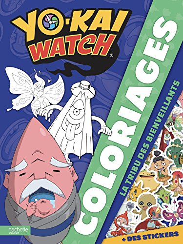 Yo-Kaï Watch - Coloriages tribu bienveillants