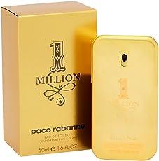 Paco Rabanne One Million homme/ men, Eau de Toilette, Vaporisateur/ Natural Spray, 1er Pack (1 x 50 ml)