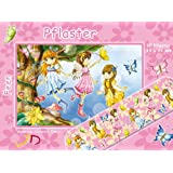 10 Pflaster * FEEN & ELFEN * mit 19x72mm vom Döll-Verlag // 263601 // Kinderpflaster Kinder Geburtstag Kindergeburtstag Mitgebsel Fee Elfe Prinzessin Rosa Pink Mädchen