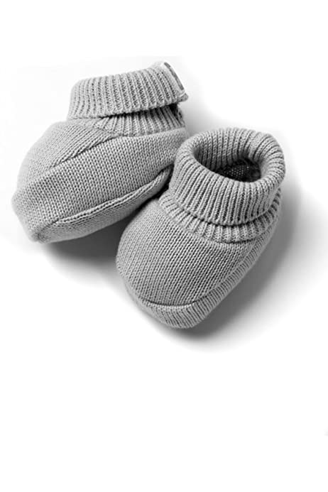 Minutus-Patucos de Punto 100% algodón para Bebé Color Gris: Amazon ...