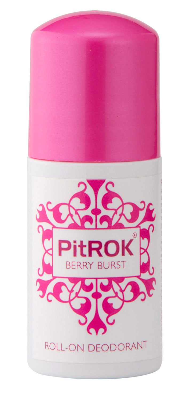 PitROK Berry Burst Roll-On Deodorant