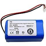 Adanse Recargable para Ilife Batería 14.8V 2600Mah Aspirador Robótico Accesorios Piezas para Ilife A4 A4S A6