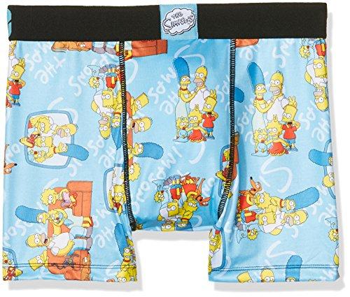 Freegun Simpsons Herren Boxershorts Mehrfarbig (Multicolor A11)