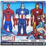 Marvel Capitán América - Set de figuras Civil War (Hasbro B8216EU4)