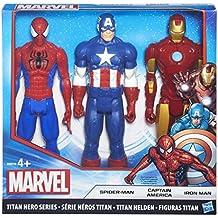 Avengers B8216EU4 Figurina Avengers, Capitan America, Iron Man e Spider-Man