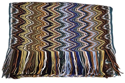 Missoni Schal Scarf Scialle Sciarpa Bufanda - Orange Label 34 x 197 x 7cm (Accessoires Schals Damen Missoni)