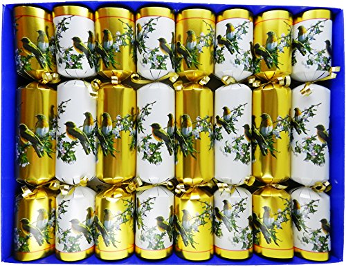 fill-your-own-christmas-crackers-box-of-8-crackers-with-a-winter-bird-design-in-gold-and-white