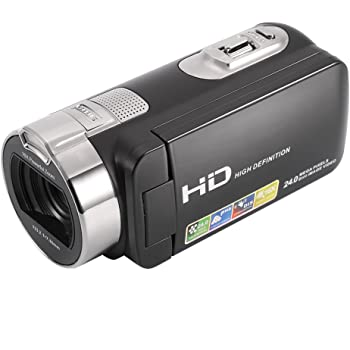 LESHP Camcorder Digital Camera 1080P Full HD Digital Video Camera Lightweight Slim with HDMI, 2.7 Inch TFT Screen, 24MP 16x Zoom, 270 Degree Rotation, Digital DVD Camcorders
