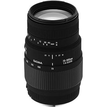 Sigma 70-300mm F/4-5.6 DG Macro Telephoto Zoom Lens for Nikon DSLR Camera