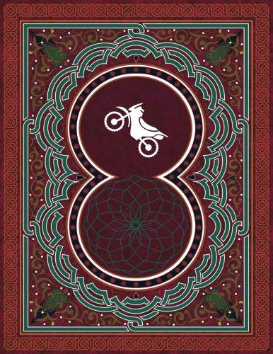 Monogram Motocross Sketchbook: Blank Art Pad Notebook Journal: Volume 61 (Monogram ArabesqueOne 150 Sketch)