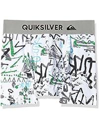 Quiksilver Póster calzoncillos para niño, Niño, Boxer Poster, Bp Hieline White, small