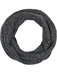 TOM TAILOR Denim sporty snood, Echarpe Homme, Noir (black), Taille unique