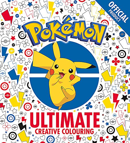The Official Pokémon Ultimate Creative Colouring -